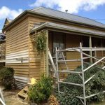 Kline St domestic weatherboard painting in Ballarat