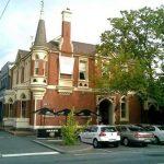 LGE Buildings Ballarat - Turret Cafe heritage building paint restoration