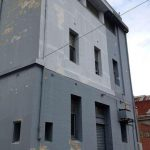 Commercial Building Restoration and Painting for Ontrack Fitness, Sturt Street Ballarat