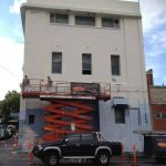 Ontrack Fitness, Sturt Street commercial painting in Ballarat