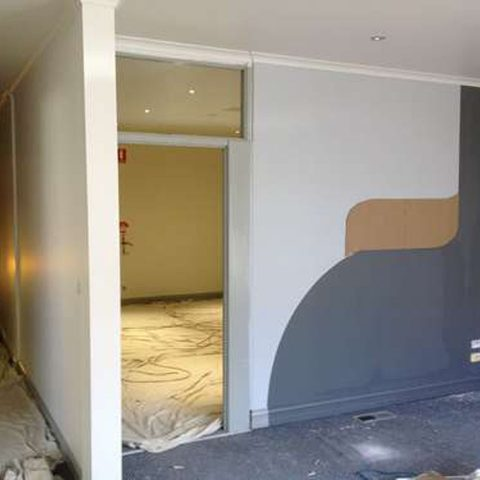 Sky Accounting, commercial painting project Ballarat